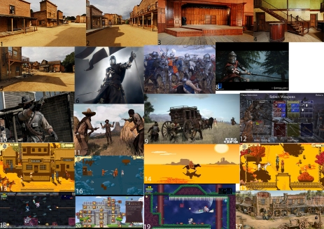 western_game_mood_board